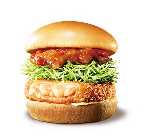 【期間限定バーガー】海老カツ オマールソース