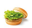 ソイクリームチーズテリヤキバーガー ナチュラルチーズ使用