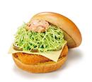 チキンバーガー(チーズ&スパイシー)