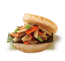 モスライスバーガー彩り野菜のきんぴら(国産野菜使用)