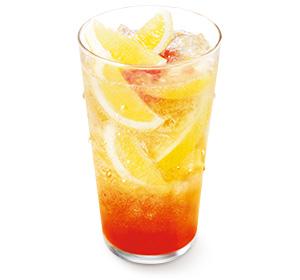 まるごと!レモンのジンジャーエール withふじりんごソース