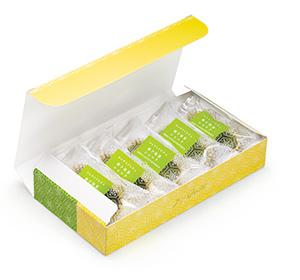 ひんやりドルチェ5個入りBOX 柚子抹茶ショコラ 国産柚子&志布志市産茶葉使用