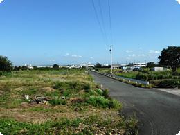 モスファームすずなり、磐田農場の予定地