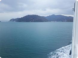 フェリーから見える上島2