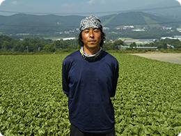 農場長の飯塚さん