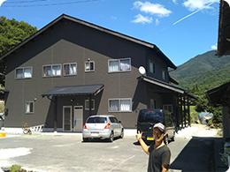 藤長さんが建てた自宅