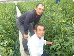 安藤社長と奈須さん