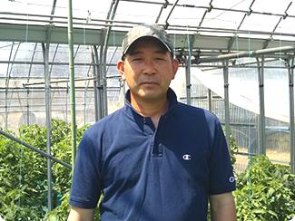 JAちばみどり 銚子施設園芸組合 萩谷 久雄さん