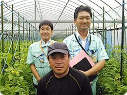 左から、水口さん、岡本さん、広兼さん