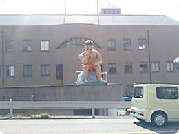 市役所前の「みそ五郎」しかも赤ふん