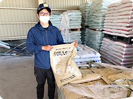 腐植酸を多く含む土壌改良資材