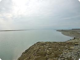 八代海(不知火海)に注ぐ球磨川