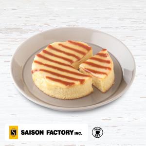 【期間限定】モスのスフレケーキ りんごバターソース&キャラメル<セゾンファクトリーのりんごバター使用>