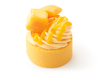【期間限定】やさしい豆乳スイーツ マンゴーロールケーキ