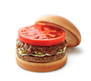 スパイシーバーベキューモスバーガー 野菜と果実の特製ソース