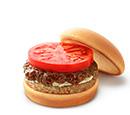 ソイバーベキューモスバーガー 野菜と果実の特製ソース