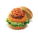 長崎トルコライス風バーガー
