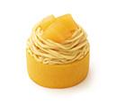 やさしい豆乳スイーツ さつまいもとりんごのモンブラン 徳島県産なると金時使用
