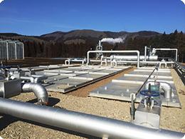 地熱利用型熱交換システム