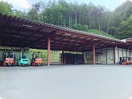 整理整頓された集出荷場