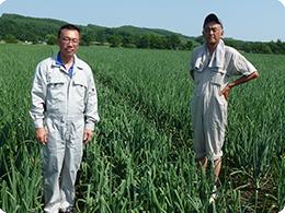 左が佐久間さん。右が刈谷さん。