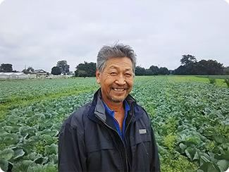 茨城県結城市 須藤農園(キャベツ) 須藤 安清さん
